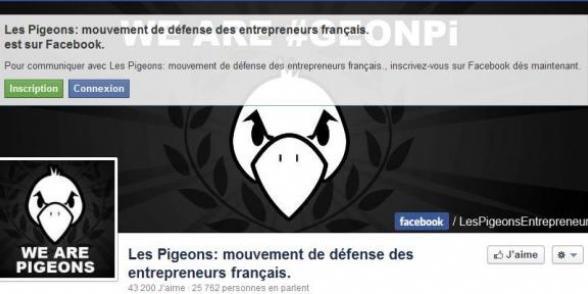 Le gouvernement pigeonné par l'UMP et le Medef dans ARTICLES 2012-10-04pigeons-entrepreneurs